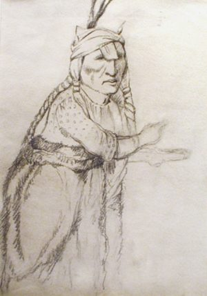 Untitled – Unidentified Woman Gesturing