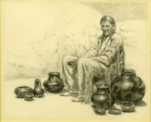 The Pottery Vendor