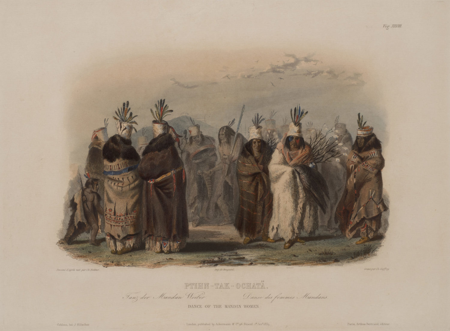 Dance of the Mandan Women