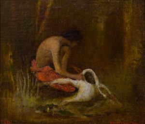Indian and Swan