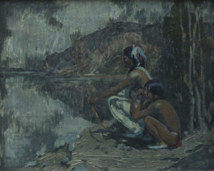 Indians in Moonlight