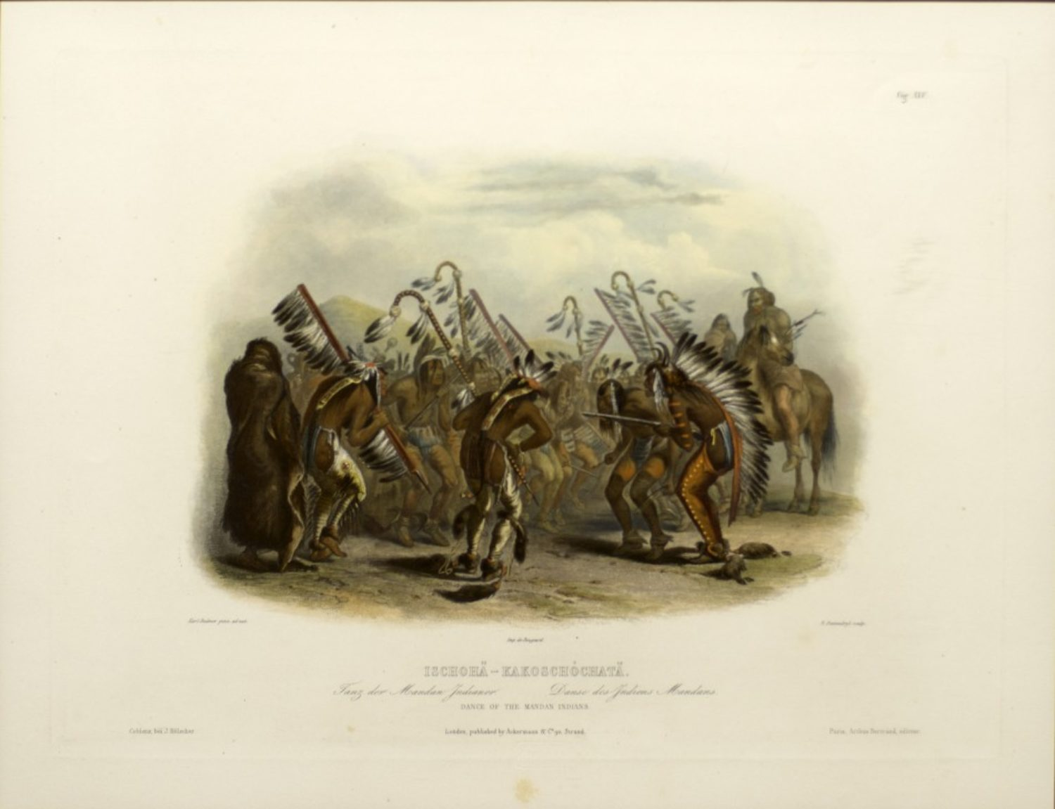 Dance of the Mandan Indians