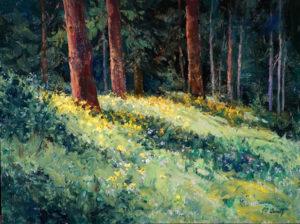 Deep Woods Wildflowers