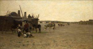 Noonday Scene in a Pueblo, San Juan 1881