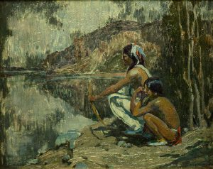 Indians in Moonlight