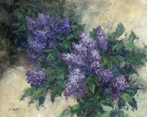 Lilacs En Plein Air