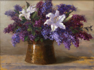 Lilies and Lilacs