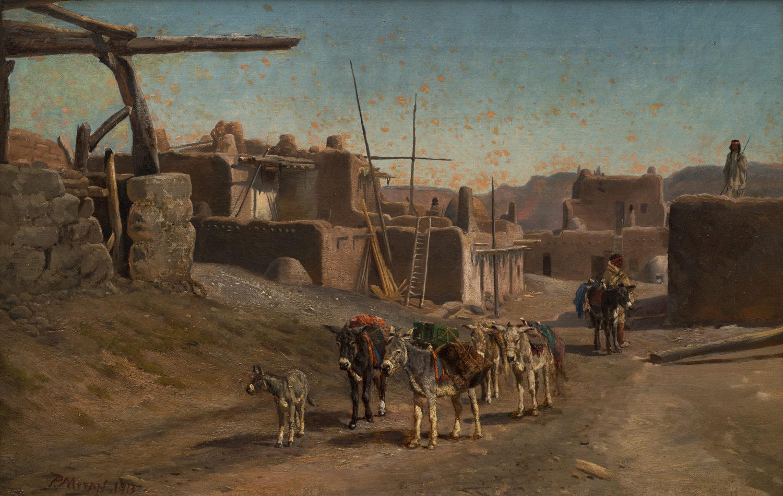 An August Day, Jemez Pueblo