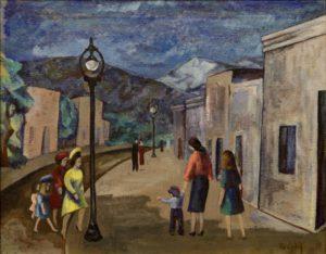Street Scene, Santa Fe