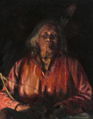 """Nar-Ah-Kig-Gee-Ah-Tzur, Apache (a.k.a. """"All But Two"""")"""