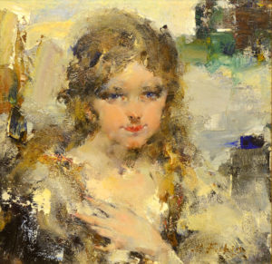 Portrait of Eya