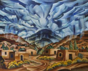 Rinconada Storm Clouds