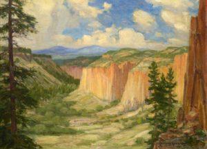 Rito de Los Frijoles Canyon