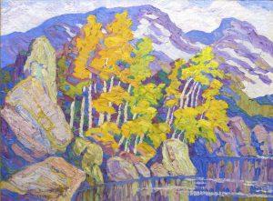 The Silent Lake, Rocky Mountain National Park, Colorado