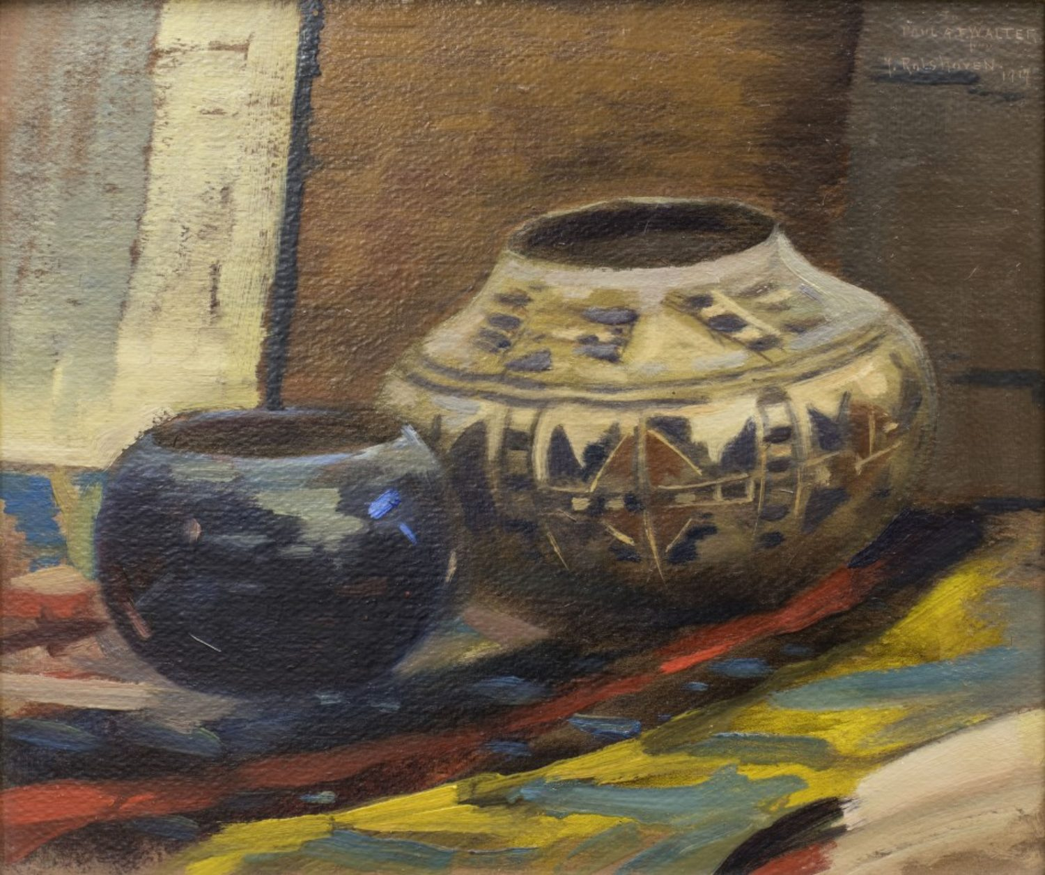 Still Life with Pueblo Pots