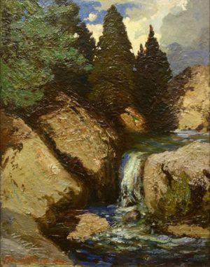 Upper Pecos River – Waterfall