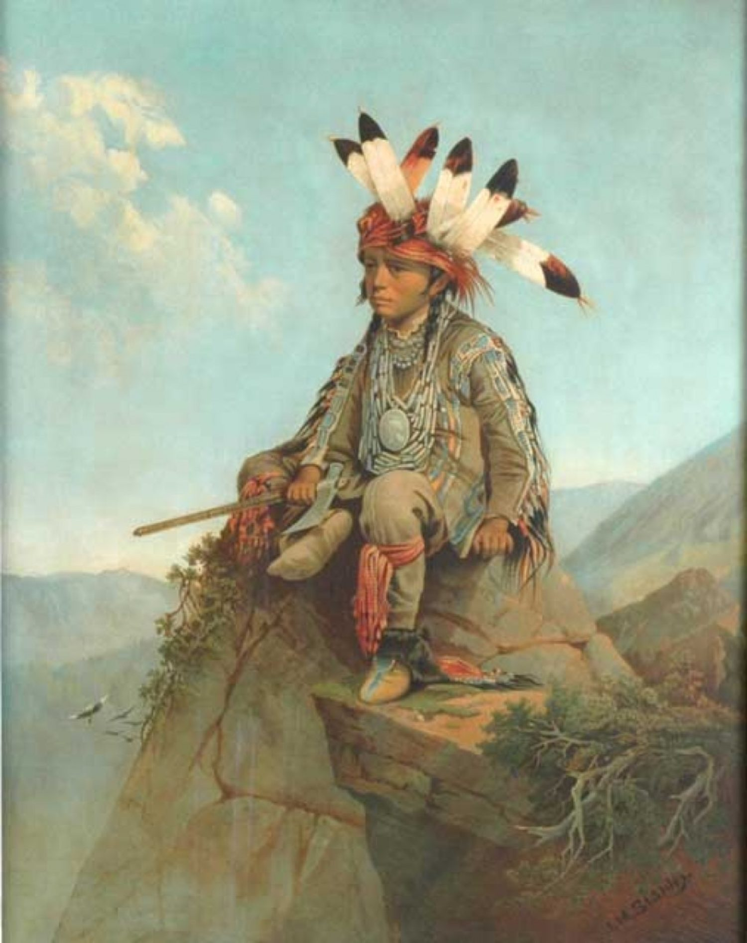 The Young Chief, Uncas