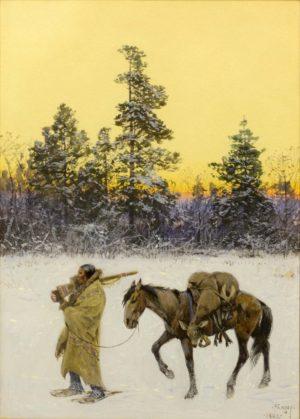 A Blackfoot Hunter