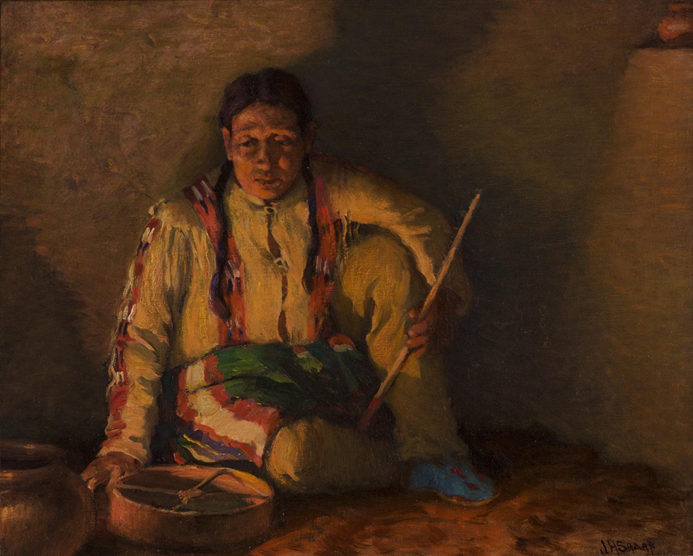 Pueblo Drummer