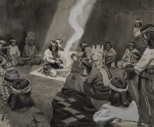 Birth of Sacred Fire of Walpi