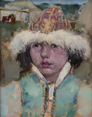 Kirghiz Girl – Cossack