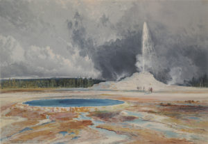 The Castle Geyser, Upper Geyser Basin, Yellowstone National Park