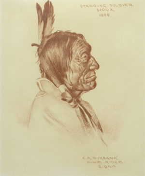 Standing Soldier, Sioux