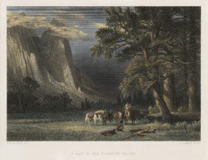 A Halt in the Yosemite Valley