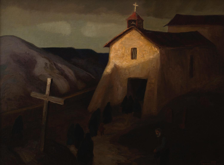 Church at Canoncito