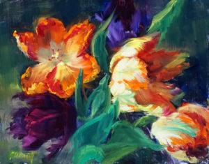 Parrot Tulip Study