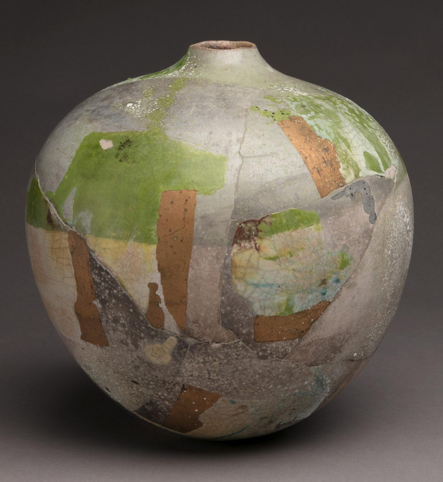 Small Globe (Copper and Green)