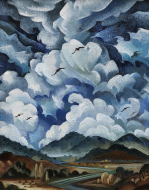 Crow Valleys Cloudscape