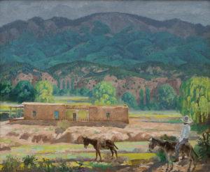 Tesuque Valley Adobe