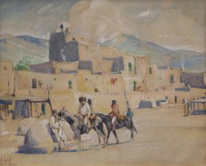 Pueblo of Taos, New Mexico