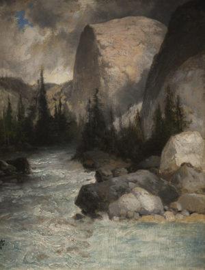 Tuolumne River Near the Head of the Great Cañon