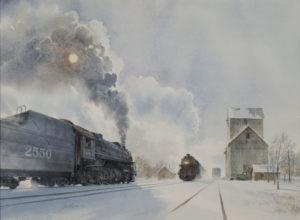 Untitled – 2550 Train, Illinois Grain and Feed Co.
